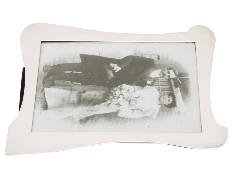 Antique Sterling Silver Photograph Frames For Sale 1