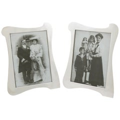 Antique Sterling Silver Photograph Frames