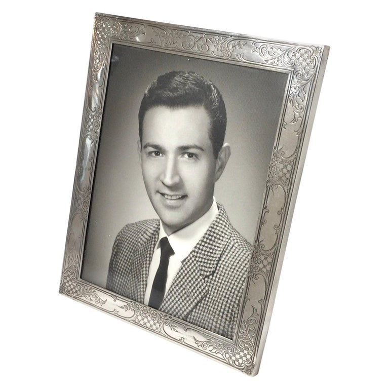 Antique Sterling Silver Picture Frame by Baily Banks and Biddle, Philadelphia