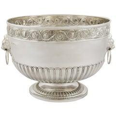 Antique Sterling Silver Presentation Bowl 1813