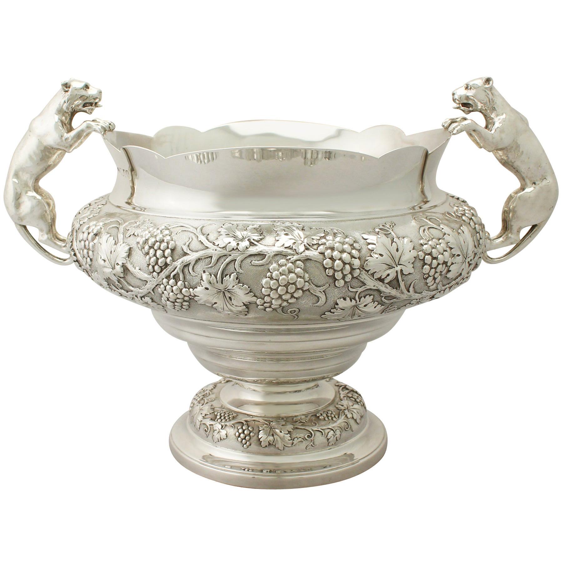 Antique Sterling Silver Presentation Bowl