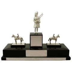 Antique Sterling Silver Presentation Trophy/Centerpiece