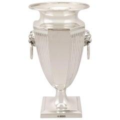 Antique Sterling Silver Presentation Vase