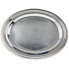Antique Sterling Silver Tiffany & Co Tray, USA, circa 1892