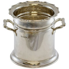 Antique Sterling Silver Wine / Champagne Cooler, Atkin Brothers, Sheffield, 1924