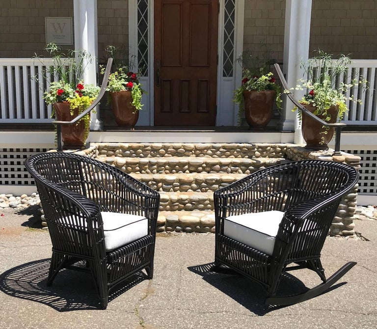 Antique Stick Wicker Set For Sale 1