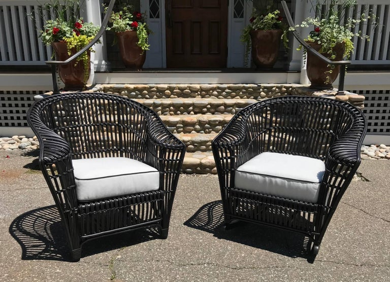 Antique Stick Wicker Set For Sale 2