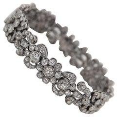 Antique Style Old Cut Bracelet