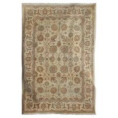 Antique Style Pakistani Oushak Handmade 100% Afghan Wool Rug
