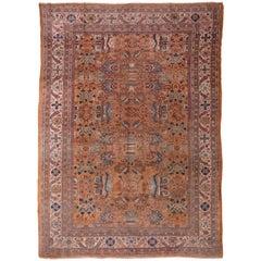 Antique Sultanabad Carpet, circa 1900s