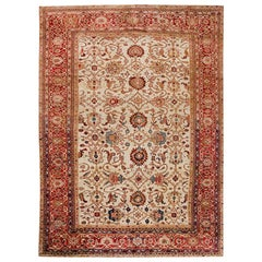 Antique Sultanabad Persian Rug