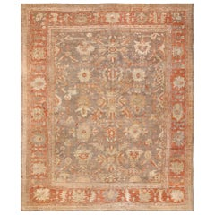 Antique Sultanabad Persian Rug. Size: 12 ft 9 in x 15 ft 2 in (3.89 m x 4.62 m)