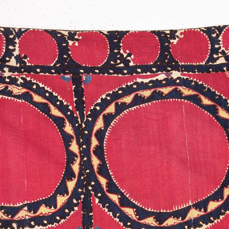 Antique Suzani from Tashkent, Uzbekistan, Late 19th Century For Sale 2