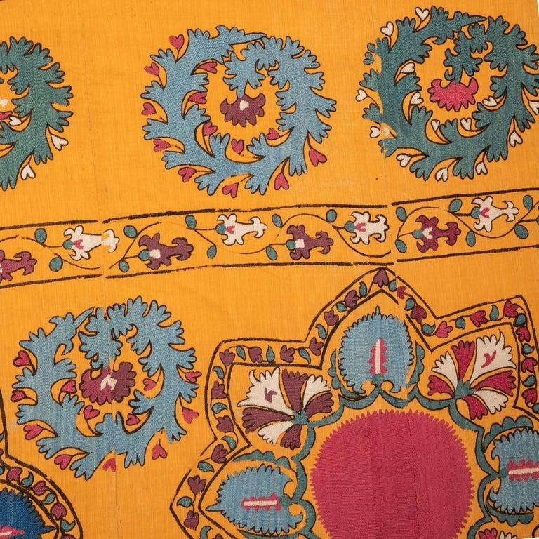 Antique Suzani from Tashkent Uzbekistan, Late 19th Century For Sale 2