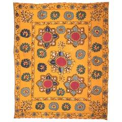 Antique Suzani from Tashkent Uzbekistan, Late 19th Century