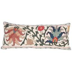 Antique Suzani Pillow Case Made from a 19th Century Suzani, Uzbekistan