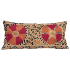 Antique Suzani Pillowcase /Cushion Cover Made from a Mid 19th c Suzani