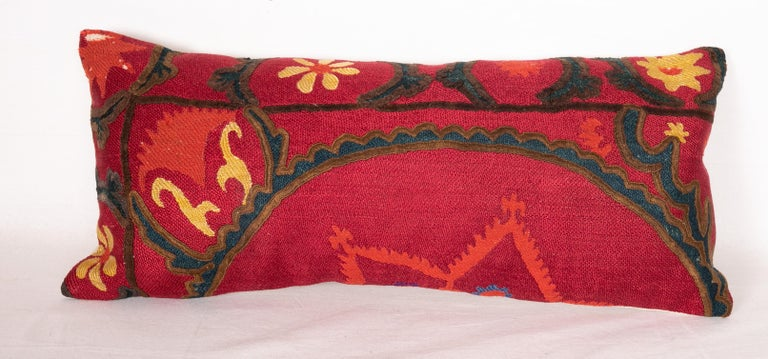 Asian Antique Suzani Pillows Made from a 19th Century Tashkent Suzani For Sale