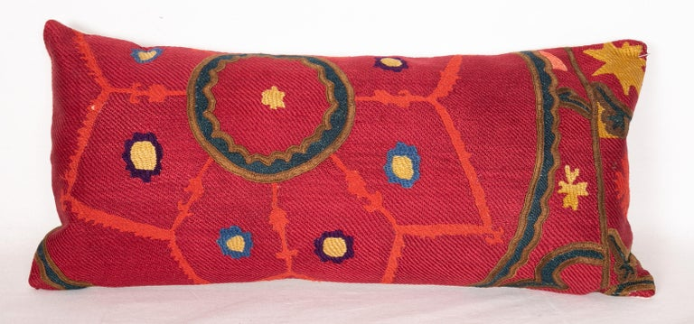 Antique Suzani Pillows Made from a 19th Century Tashkent Suzani In Good Condition For Sale In Istanbul, TR