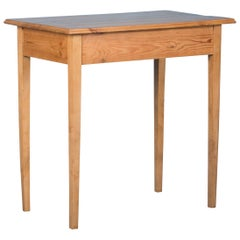 Antique Swedish Country Pine Side Table