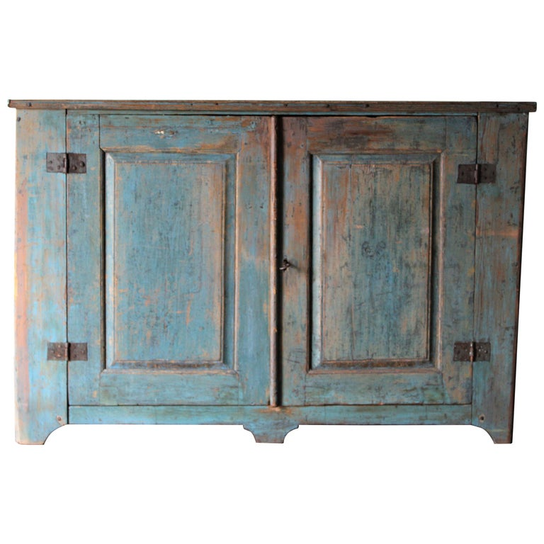 Antique Swedish Cupboard For Sale
