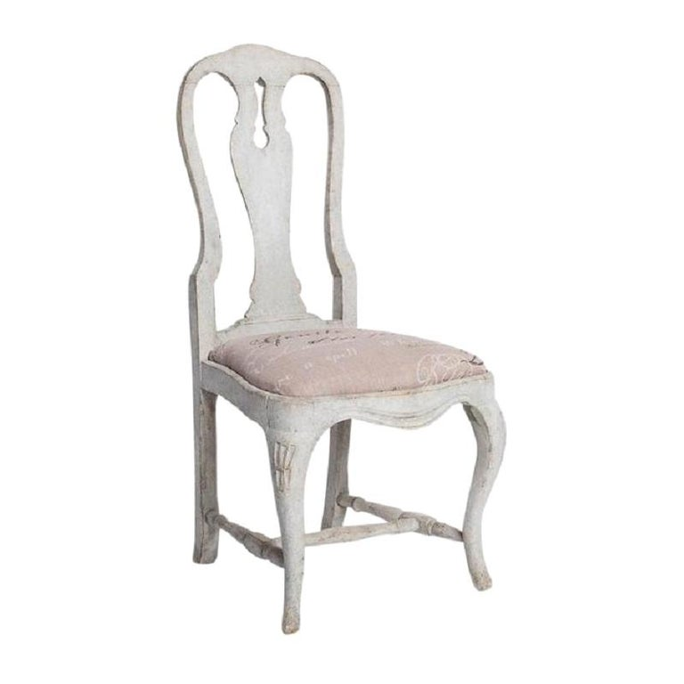 Antique Swedish Dining Chairs For Sale