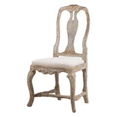Antique Swedish Rococo Chair