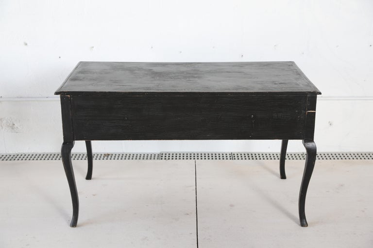 Antique Swedish Rococo Style Writing Desk  Early 20th Century For Sale 2