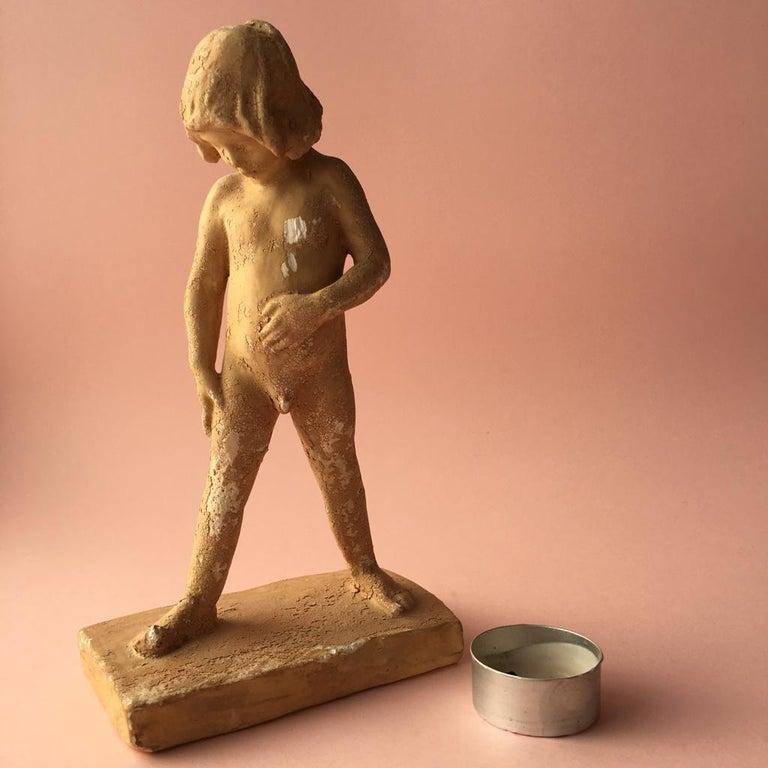 Antique Swedish Terracotta