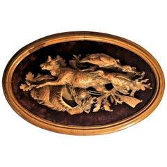 Antique Swiss Walnut Nature Mort