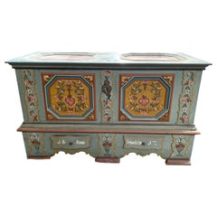 Antique Swiss Wedding Chest