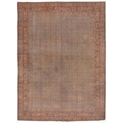 Antique Tabriz Carpet, circa 1900s