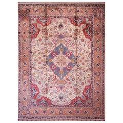 Antique Tabriz, Silk Rug
