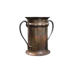 Antique Tankard, English, Silver Plate, Jug, Vase, Art Nouveau, Victorian, 1900