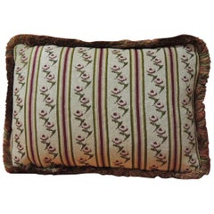 Antique Tapestry Petite Floral Decorative Pillow