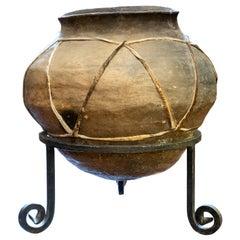 Antique Tarahumara Tesquino Vessel