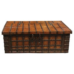 Antique Teak Box, Coffee Table