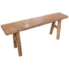 Antique Teak Wood Bench