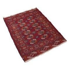 Antique Tekke Bokhara Rug, Middle Eastern, Nomadic, Turkoman, Carpet, circa 1900