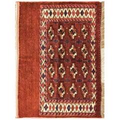 Antique Tekke Turkomen Rug, circa 1900s