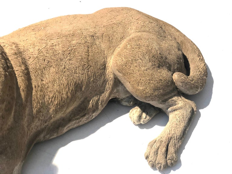 Antique Terracotta Dog English Bulldog Animal Sculpture, England For Sale 2