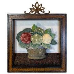 Antique Textile Collage by Patrizia Medail