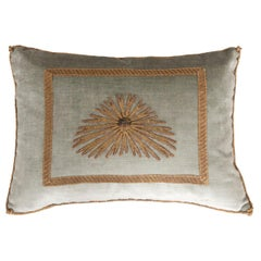 Antique Textile Pillow by B.Viz Design