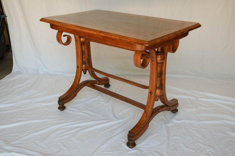 Austrian Antique Thonet Bentwood Table For Sale