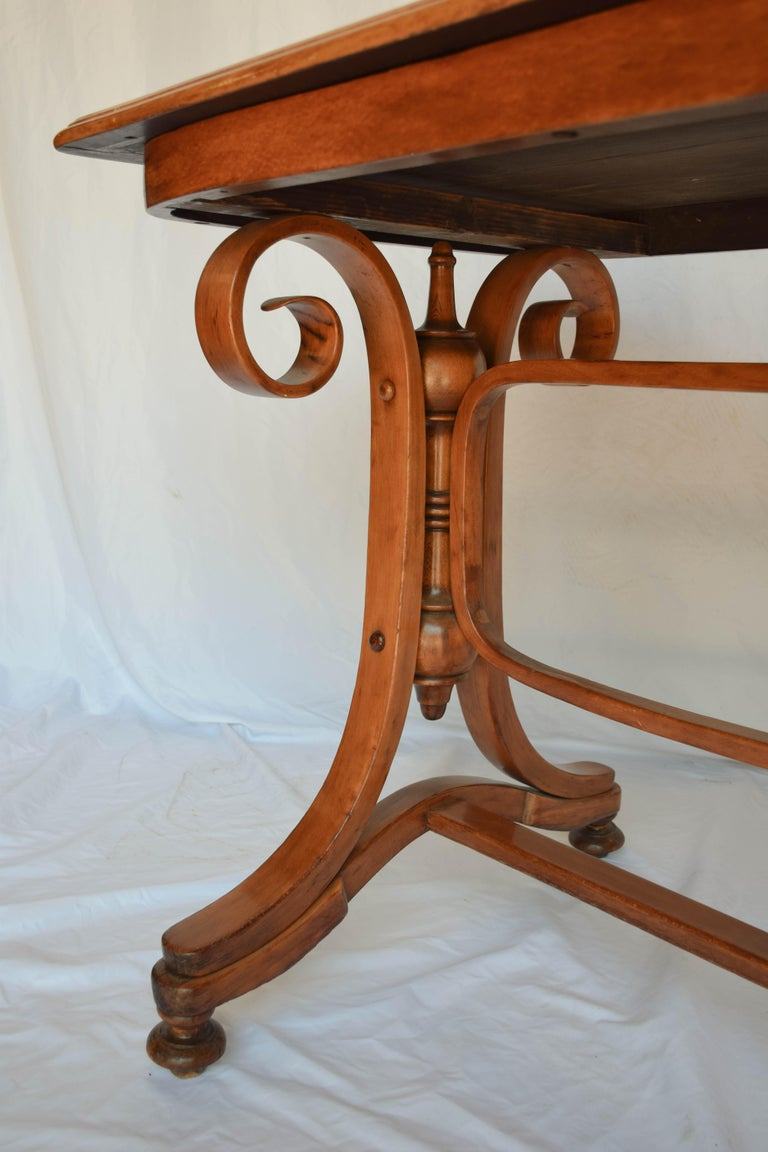 20th Century Antique Thonet Bentwood Table For Sale