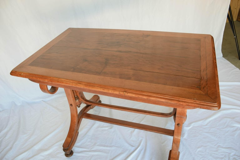 Wood Antique Thonet Bentwood Table For Sale
