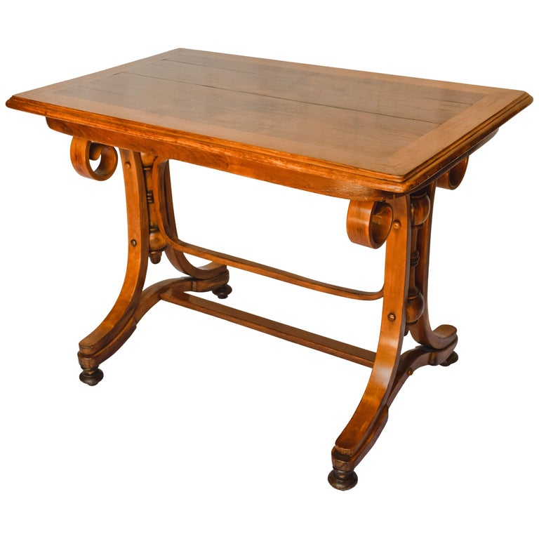 Antique Thonet Bentwood Table For Sale