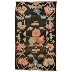 Antique Tibet Carpet with pomegranate