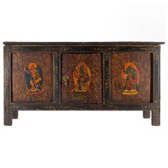 Antique Tibetan Console Table