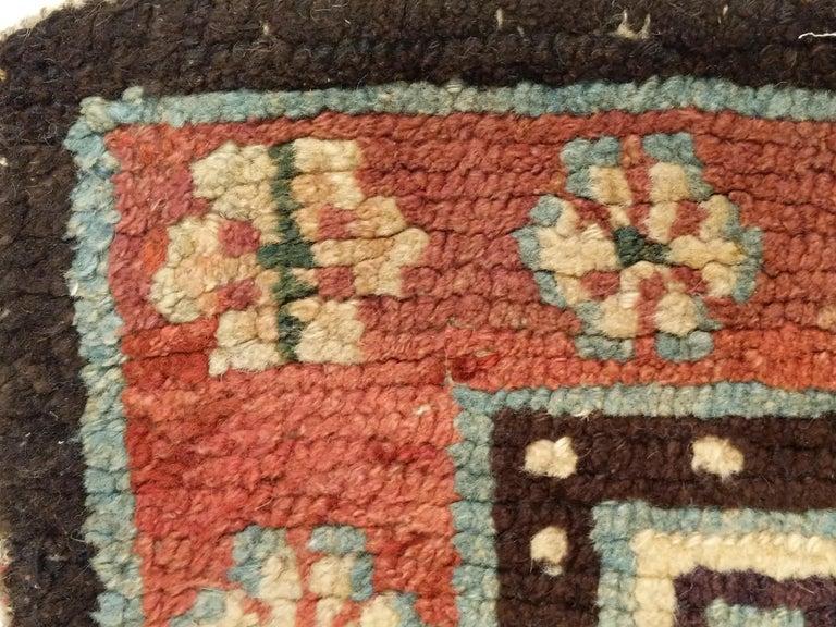 Antique Tibetan Meditation Rug 4